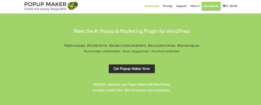 WP Popup Maker 2