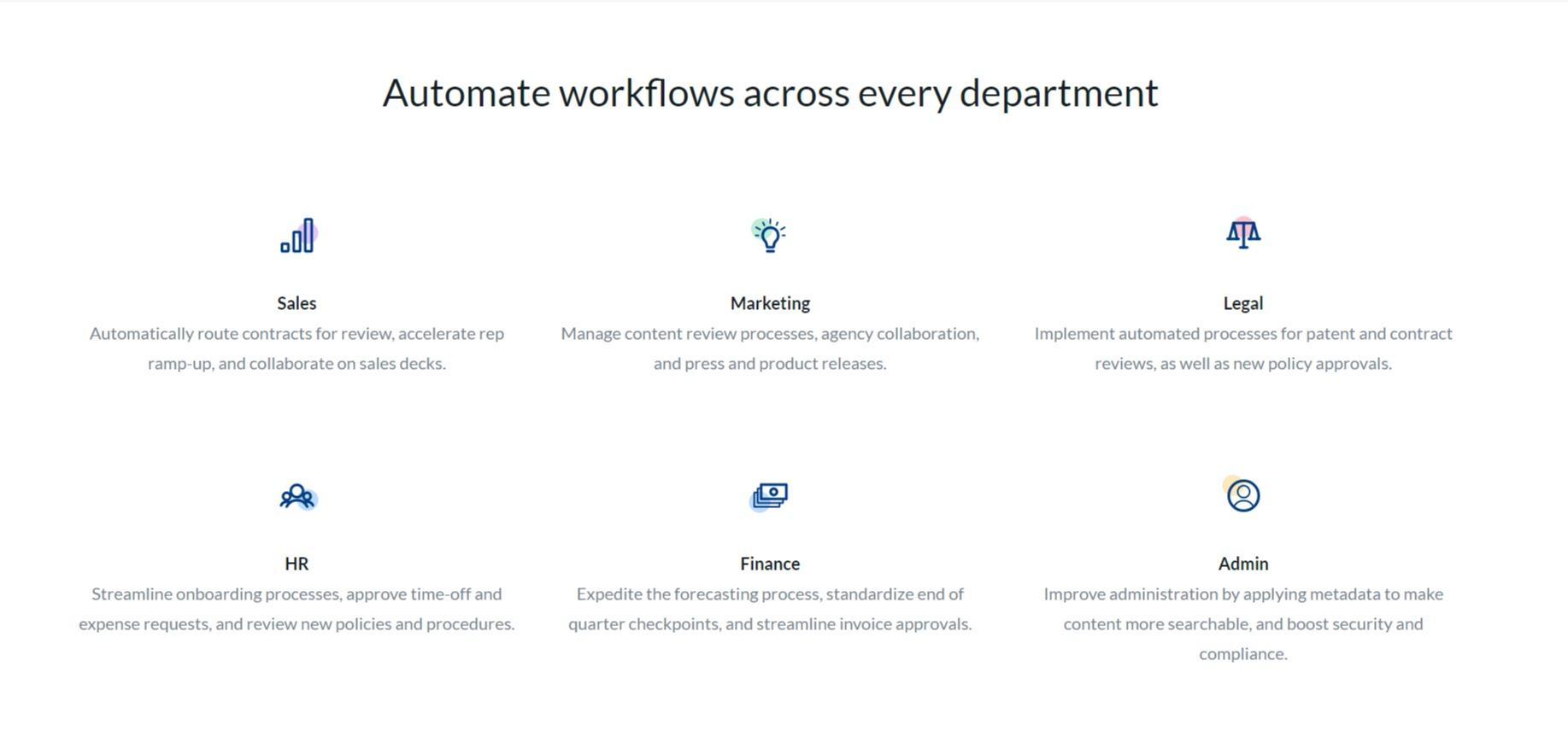 Box workflows automation
